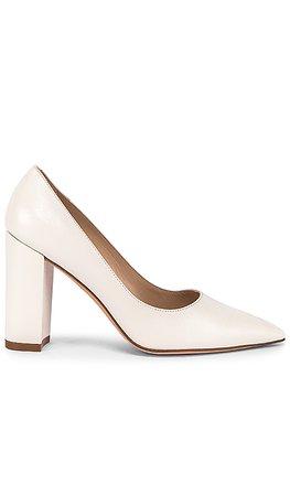 Stuart Weitzman Laney Heel in Cream | REVOLVE