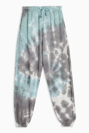 Blue Tie Dye Sweatpants | Topshop