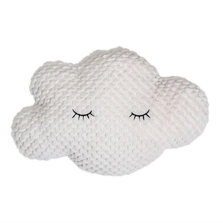 Cloud Pillow in White design by BD Mini – BURKE DECOR