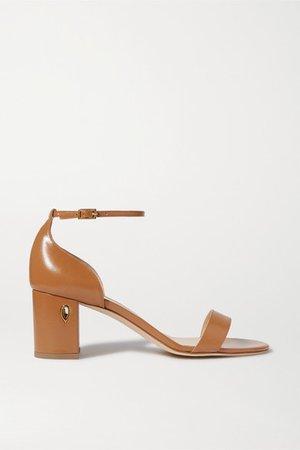Massimo 65 Embellished Leather Sandals - Tan