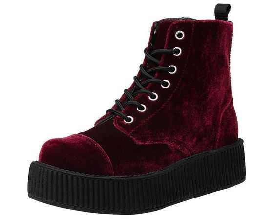 $60 Velvet Vegan Boot