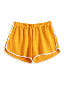 yellow dolphin shorts