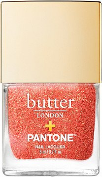 Butter London Pantone Color of the Year 2019 Glazen Peel-Off Glitter Nail Lacquer | Ulta Beauty