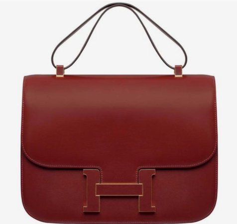 hermès burgundy bag
