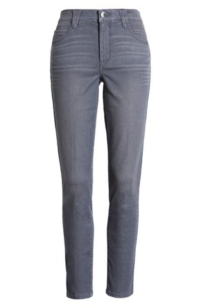 Wit & Wisdom Ab-Solution High Waist Ankle Skinny Jeans (Regular & Petite) (Nordstrom Exclusive) | Nordstrom