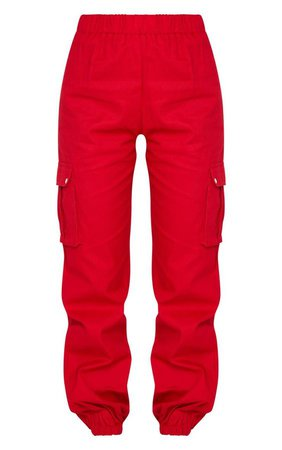 Red Cargo Pants