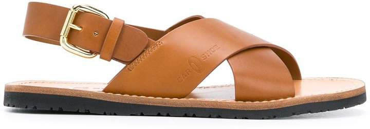 Crossover Strap Sandals