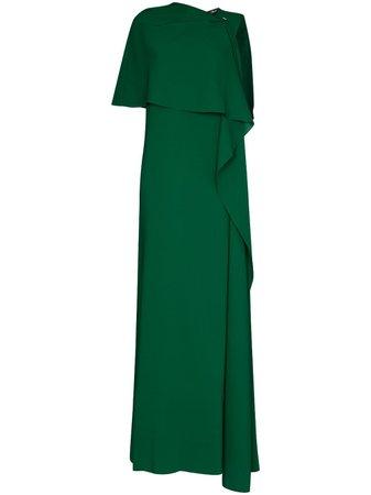 Oscar De La Renta, draped-detail Evening Gown