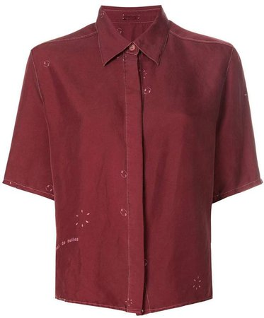Pre-Owned shortsleeved shirt