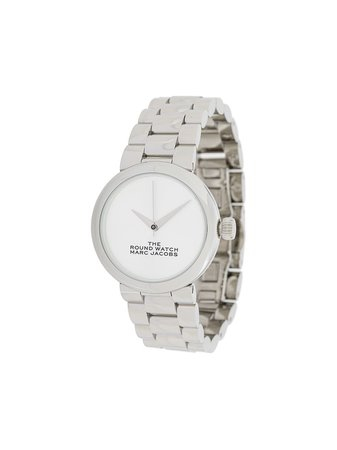 Marc Jacobs Watches The Round Watch MJ0120179278 Silver | Farfetch