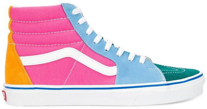 Hi-Top Skate Sneakers