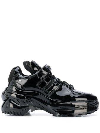 Maison Margiela Chunky Sole Sneakers S39WS0037P2942 Black | Farfetch