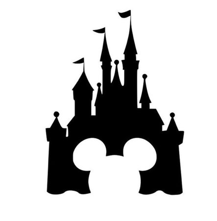 Mickey Mouse Disney Castle