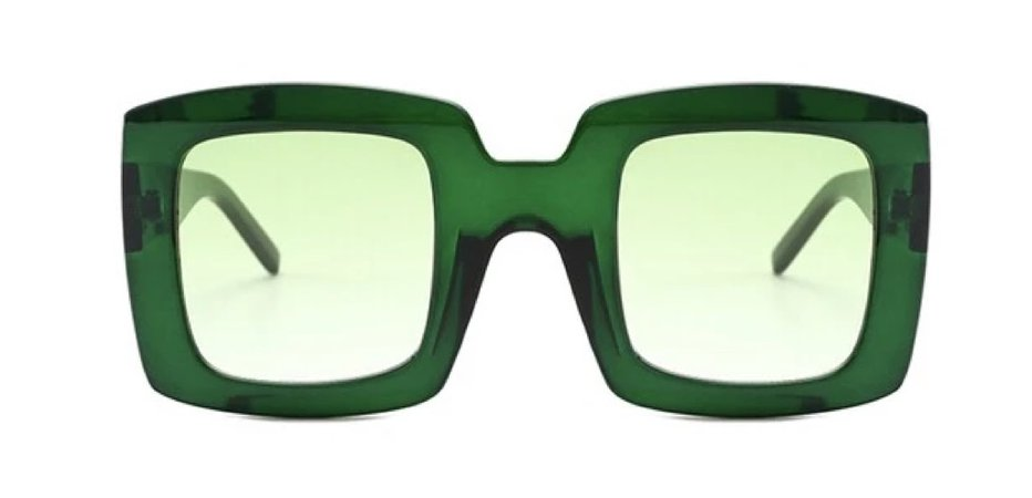BSO CLUTCH Green Tinted Glasses