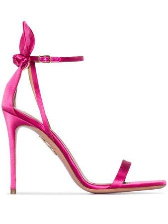 Aquazzura Deneuve 105Mm Sandals DENHIGS0SAT Pink | Farfetch