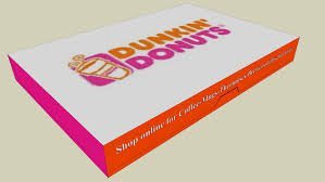 dunkin donut box - Google Search