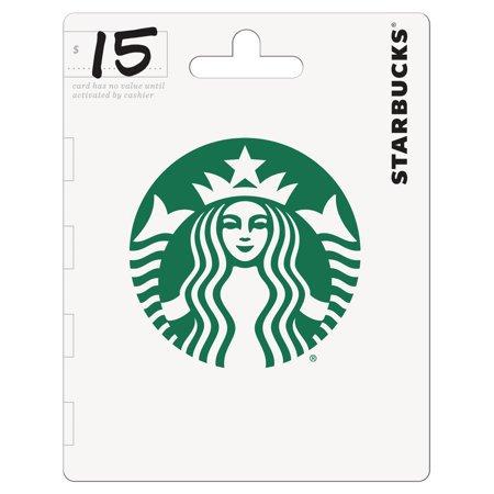 Starbucks $15 Gift Card - Walmart.com