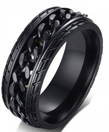 Black Chain Ring - Tire