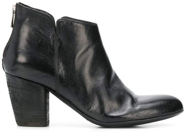 high heek ankle boots