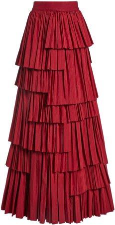 Joellen Asymmetrical Tiered Skirt