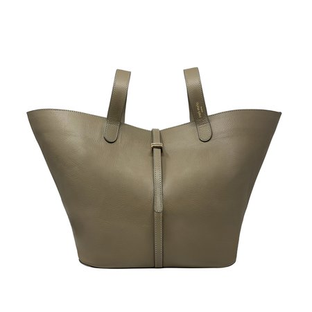 BB Bag Mink Grey Leather Bag for Women | meli melo Official