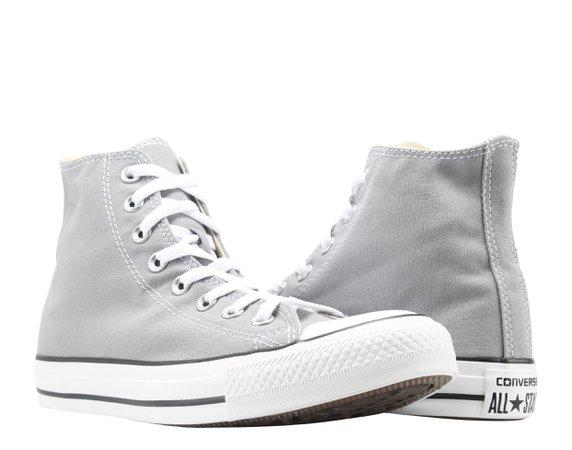 Grey Converse High Tops