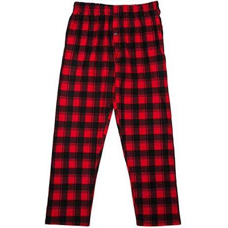 North 15 - North 15 Boy's Plaid Plush Fleece Pajama Pants-1205B-Design3-8 - Walmart.com - Walmart.com
