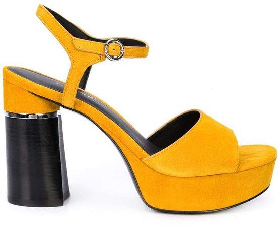 Ziggy Suede Platform Sandal