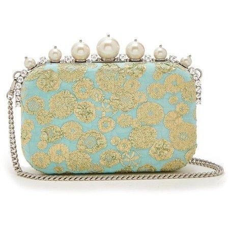 MIU MIU, Pearl embellished clutch