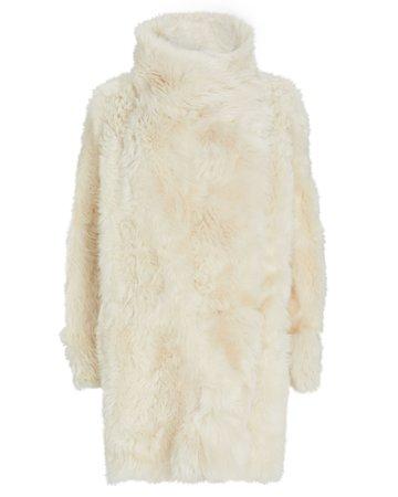 Yves Salomon Reversible Shearling Coat | INTERMIX®