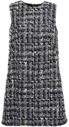 Wool-blend Tweed Mini Dress