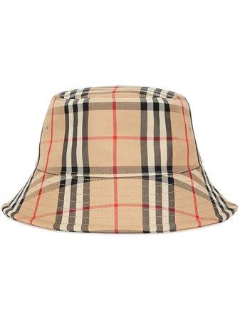 Burberry Vintage Check Bucket Hat Ss20 | Farfetch.com