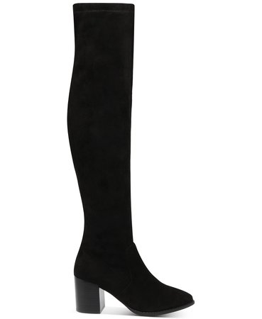 black DV Dolce Vita Trude Over-The-Knee Boots & Reviews - Boots - Shoes - Macy's