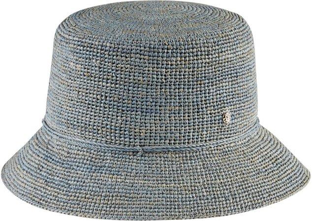 Packable Raffia Bucket Hat