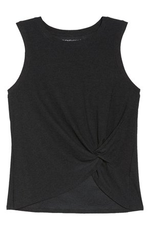 Beyond Yoga Front Twist Muscle Tank   Nordstrom
