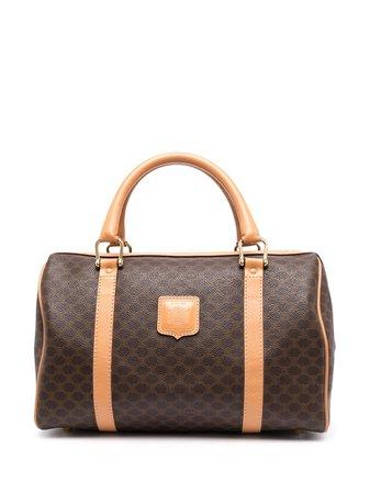 Céline, Pre-Owned pre-owned Macadam Boston Tote Bag