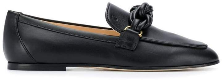 knot detail loafers