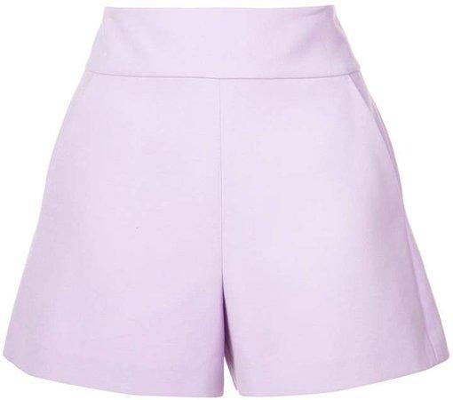 Alice+Olivia Donald high-waisted shorts