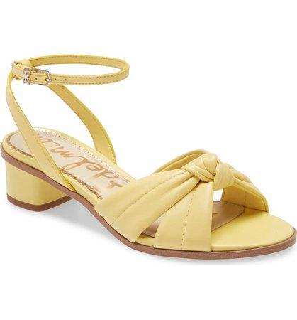 Sam Edelman Ingrid Ankle Strap Sandal (Women) | Nordstrom