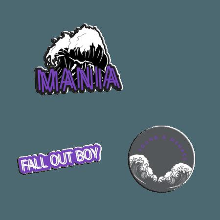 M A N I A Lapel Pins | Accessories | Fall Out Boy