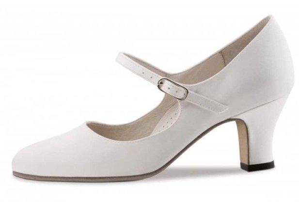 white heel