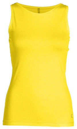 Conquista Fitted Sleeveless Top