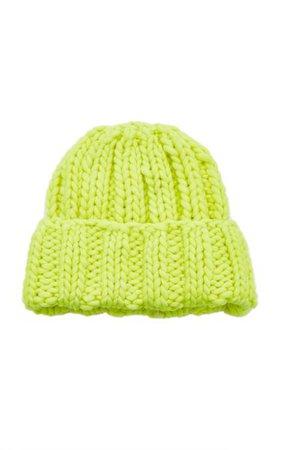 Folded Knit Wool Hat By Clyde   Moda Operandi