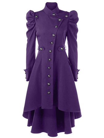 Beebeauty Gothic Vintage Womens Steampunk Victorian Long Trench Coat Jacket: Amazon.ca: Clothing & Accessories