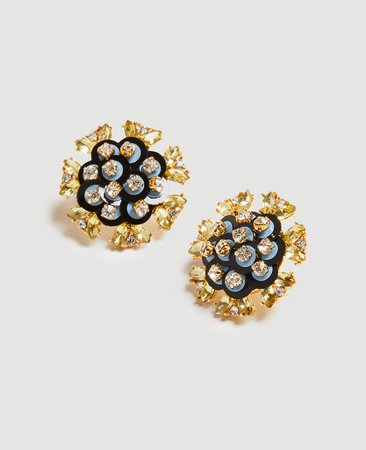 Sequin Stud Earrings | Ann Taylor