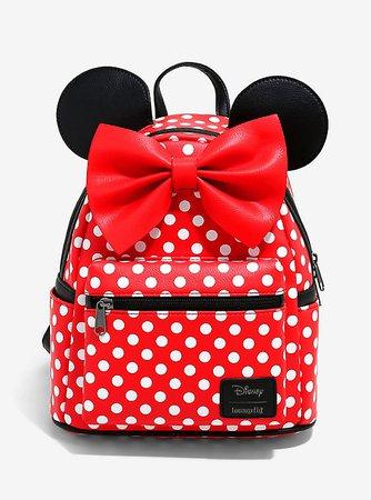 Loungefly Disney Minnie Mouse Polka Dot Mini Backpack