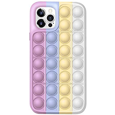Amazon.com: Fidget Toys Phone Case,Push Pop Bubble Protecive Case for iPhone7,8,7P,8P,X,XS,XS Max,XR,11,11pro,12,12Pro,12Pro Max (iPhone8plus, Multicolor)