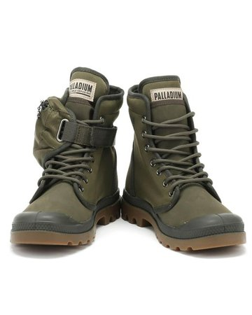 Lyst - Palladium Pampa Solid Ranger Tp Army Green Boots in Green