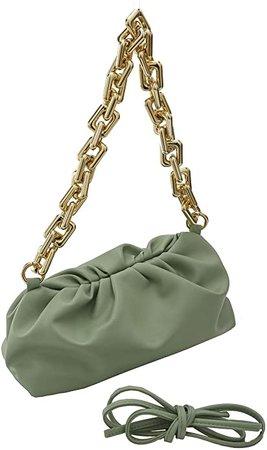 Amazon.com: Cloud Bag Dumpling Shoulder Bag Chunky Chain Pouch Bag: Shoes