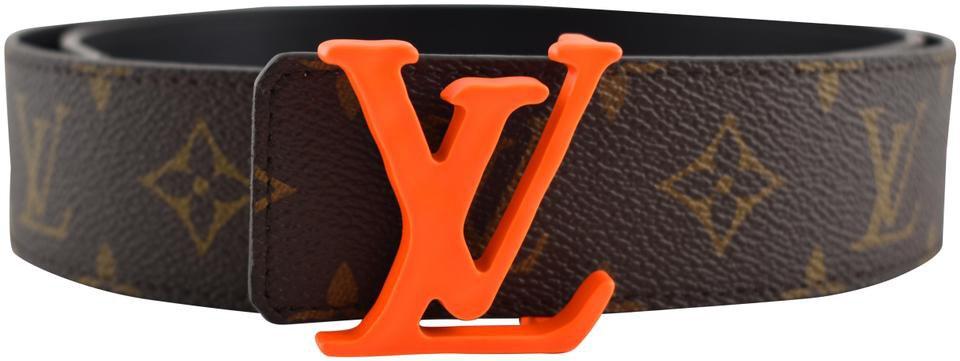 orange louis belt